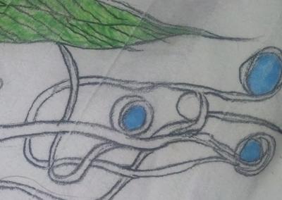 Button Bug Doodle